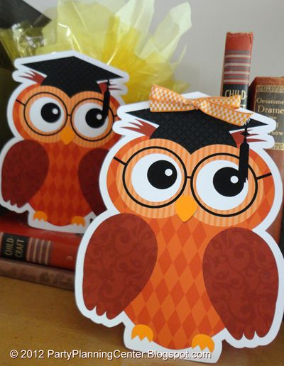 Graduation Owl Party Bags | Printables 4 Mom