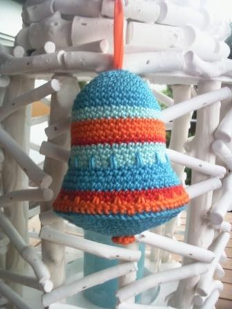 Crochet bell for any occasion, not just christmas #crochet #DIY #christmas