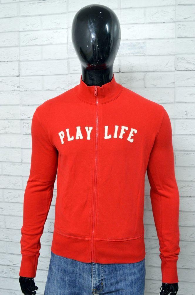 f03d28e9b6 Felpa PLAYLIFE Uomo Taglia L Maglione Pullover Sweater Man Cotone ...
