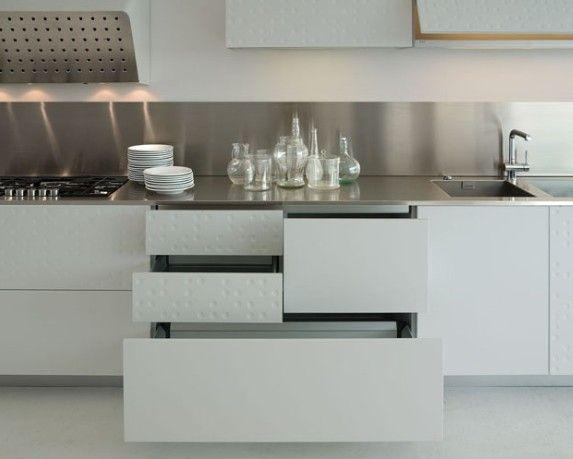 Textured cupboards