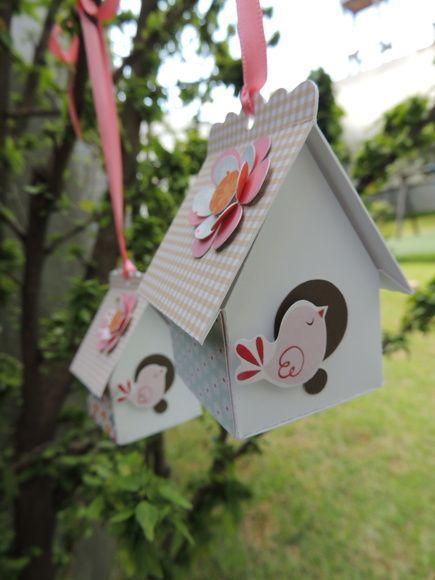 Casa de passarinho - Jardim Secreto   Scrapisa   31C90E - Elo7