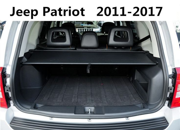 Car Rear Trunk Security Shield Cargo Cover For Jeep Patriot 2011.2012.2013.2014.2015.2016.2017 High Qualit Auto Accessories