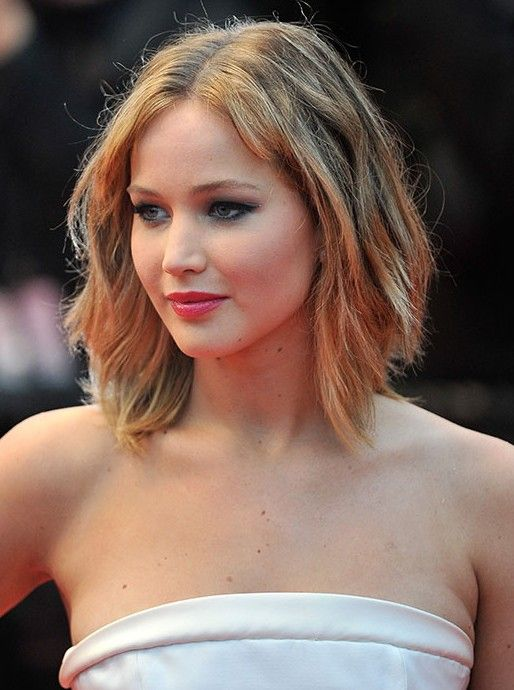 short layered hairstyle for 2015 jennifer lawrence