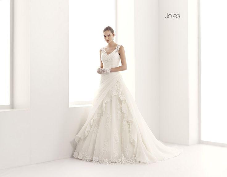 GLAMOUR JOLLIES-28 abiti da sogno, per #matrimoni di grande classe: #eleganza e qualità #sartoriale  www.mariages.it