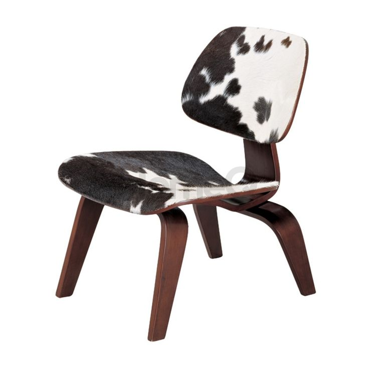 Replica Ponyskin Eames Moulded Plywood Chair - Lounge Chair Wood (LCW)