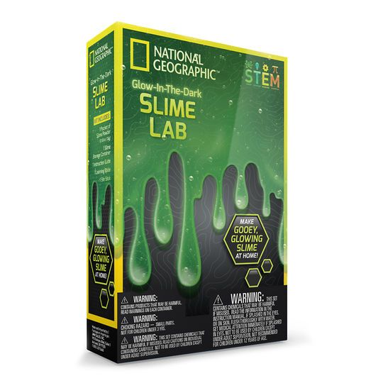National Geographic© Glow in the Dark Slime Lab