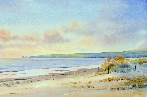 Oliver Pyle    Sítě umělců  Atmosféra malby v krajině  Akvarelové techniky