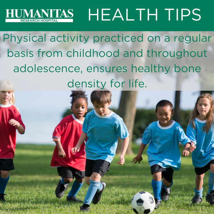 Children and teenagers can fortify their bone structure with some regular physical activities.