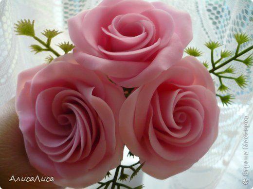 Мастер-класс Поделка изделие Лепка Итак будем пробовать сделать МК по Викторианской розе Фарфор холодный фото 1