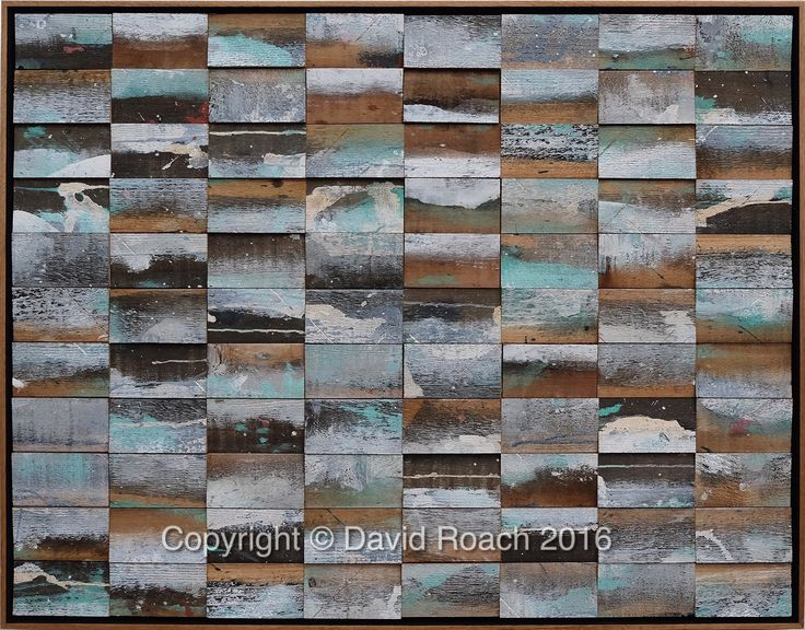 CEDAR WALK by David Roach Cedar, acrylic, wax pigment on board.  74 x 96.5 cm $3,300  - SOLD -