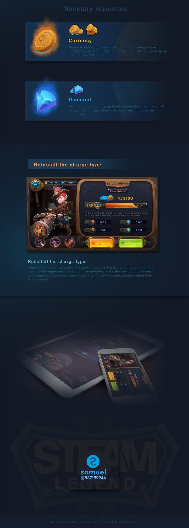 STEAM LEGEND-Game Visual Design |GAMEUI- 游戏设计圈聚集地 | 游戏UI | 游戏界面 | 游戏图标 | 游戏网站…