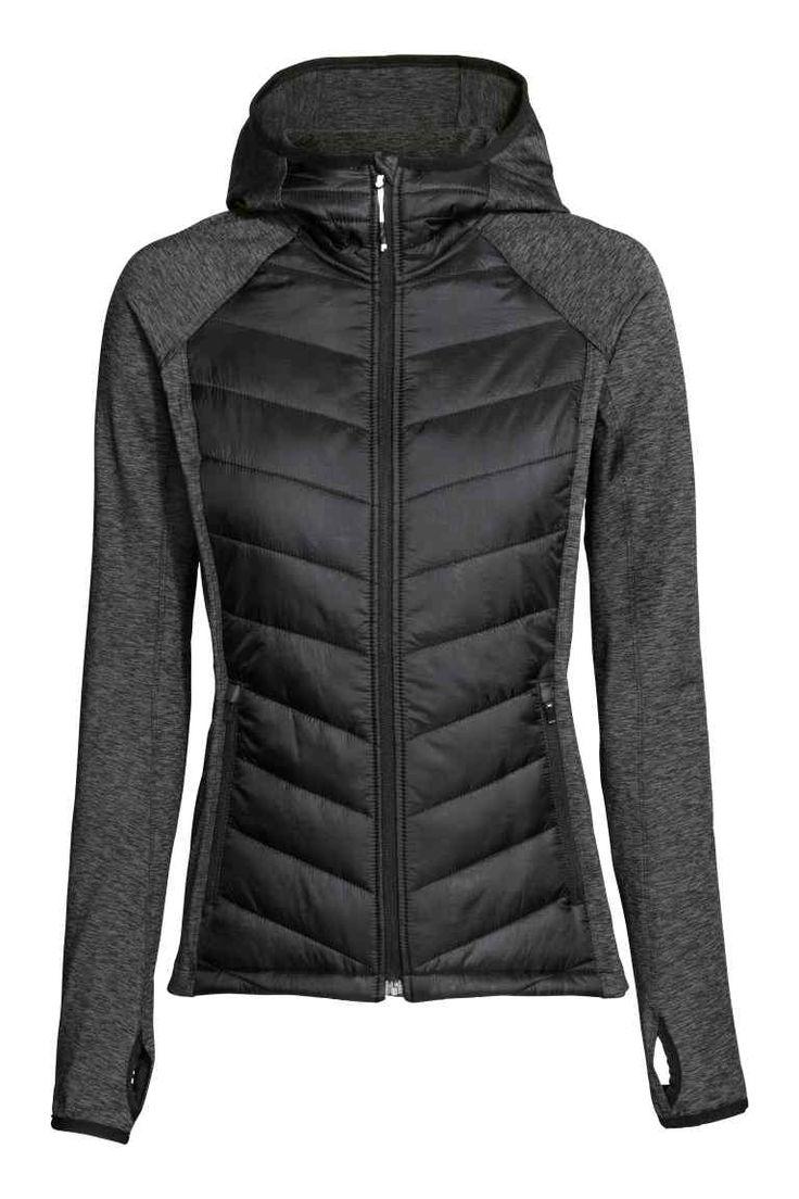 Утепленная облегченная куртка | H&M
