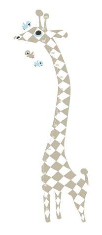 Giraffe Messlatte