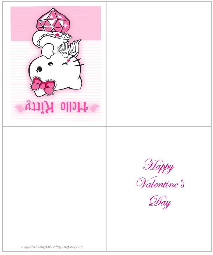 51 best Valentines images – Hello Kitty Valentine Cards