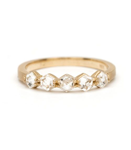 Still looking for the perfect wedding band? These rings are so pretty and unique: http://www.womangettingmarried.com/20-gorgeous-wedding-bands-for-her/
