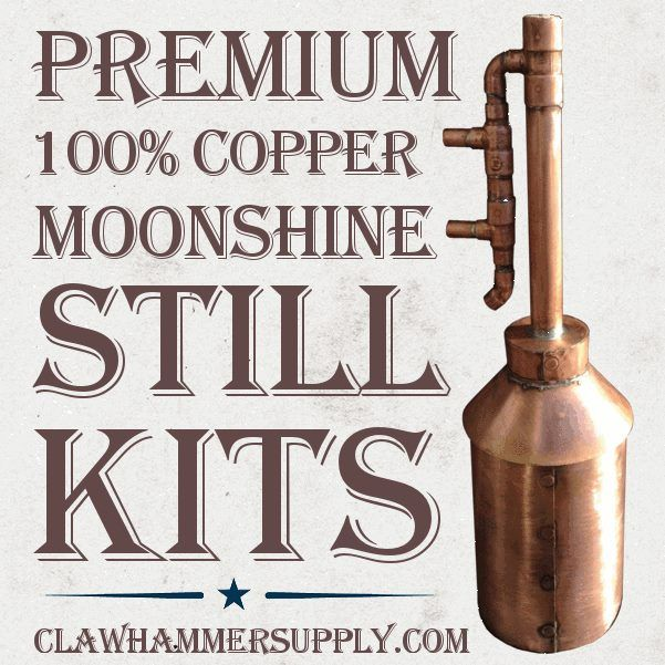"Welcome to Clawhammer Supply!  We provide kits that include all the parts you need to make your own moonshine still. Our 100% copper moonshine still kits even come with  ""how to make a moonshine still"" video instructions, located on our videos page. All you need are a few basic tools (we'll tell you which ones) and a sense of adventure, and you're ready to make a part of history."