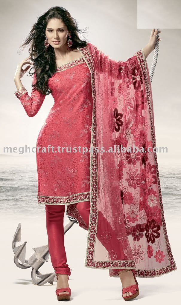 Designer Salwar Suit/Salwar Kameez/Ladies suit, View Salwar Kameez, Megh Product Details from MEGH CRAFT ENTERPRISE on Alibaba.com