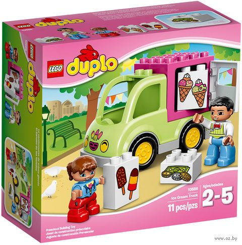 "LEGO. Duplo. ""Фургон с мороженым"""