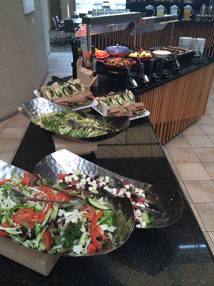 Lunch time for delegates at Rydges Capital Hill means getting spoilt.