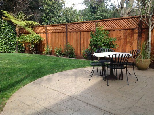 Add Lattice To Extend Height Of Privacy Fence Privacy