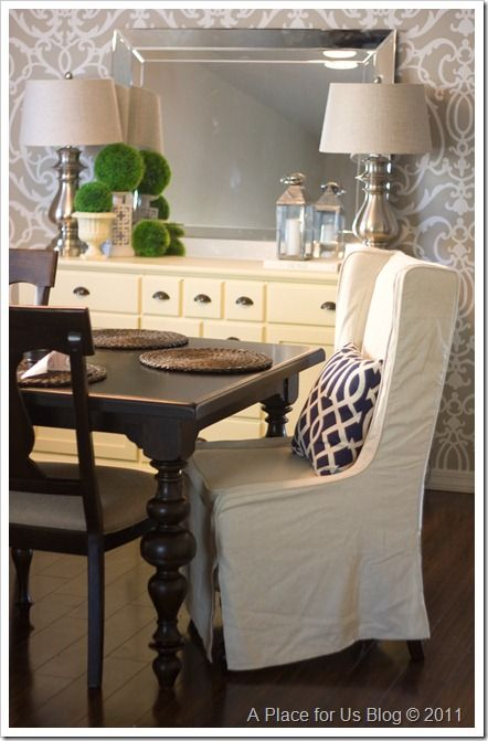 Find This Pin And More On Side Boards/Buffets By Vangiesantiago. Dining Room  ...