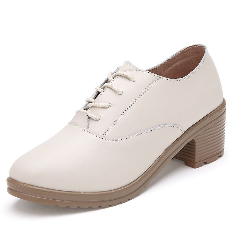 2015 Spring thick heel high-heeled shoes low-top fashion preppy style round toe genuine leather shoes women pumops Nail That Deal http://nailthatdeal.com/products/2015-spring-thick-heel-high-heeled-shoes-low-top-fashion-preppy-style-round-toe-genuine-leather-shoes-women-pumops/ #shopping #nailthatdeal
