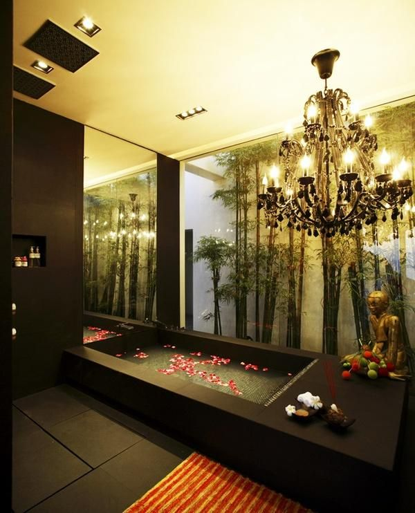 Asian Inspired Bathroom - Interior designs for your home