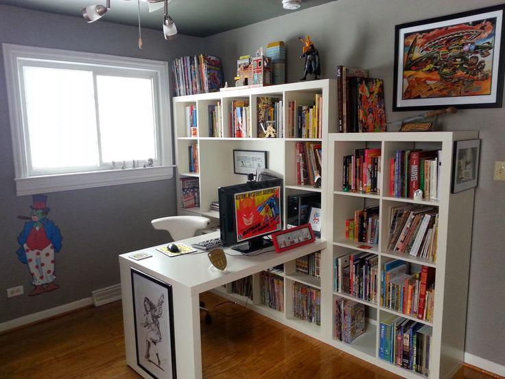 kleefeld on comics on fandom the kleefeld comics library comic book storage ideas comic. Black Bedroom Furniture Sets. Home Design Ideas