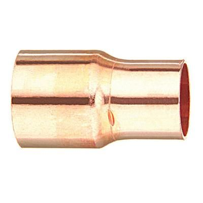 3/4 in. x 1/2 in. Copper C x C Coupling-10630716 - The Home Depot