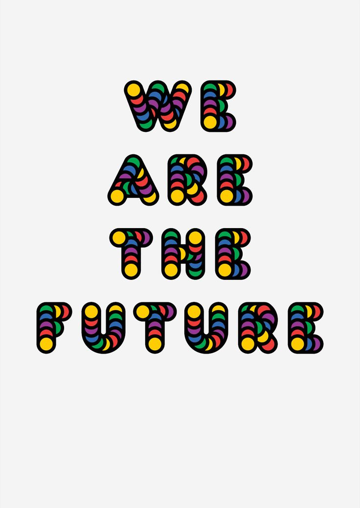 Futurist Statement #1, poster submitted and designed by James Cotton(2013) –Type OnlyUnit Editions