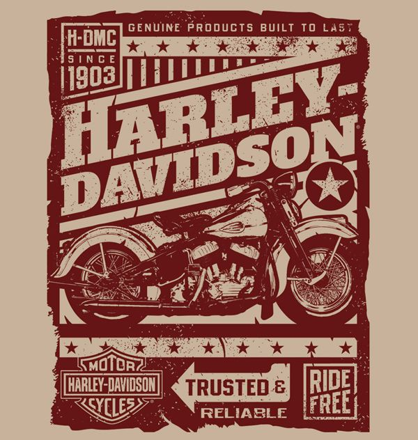 HARLEY-DAVIDSON by SOUP//GROUP Inc., via Behance