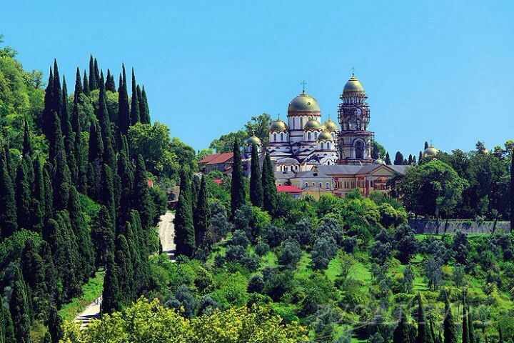 travels. abkhazia.