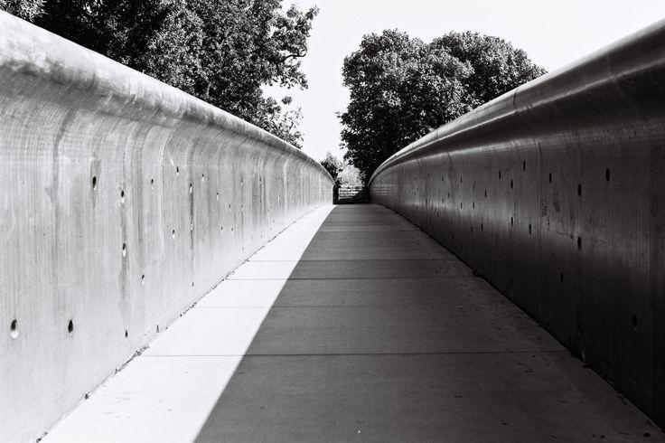 Passerelle du Pont du Diable, 68m, 2005-2009, Gignac, France, Rudy Ricciotti