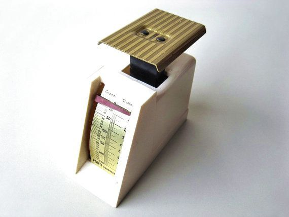 Vintage Letter Scale Postal Scale from 1970s by Lunartics on Etsy