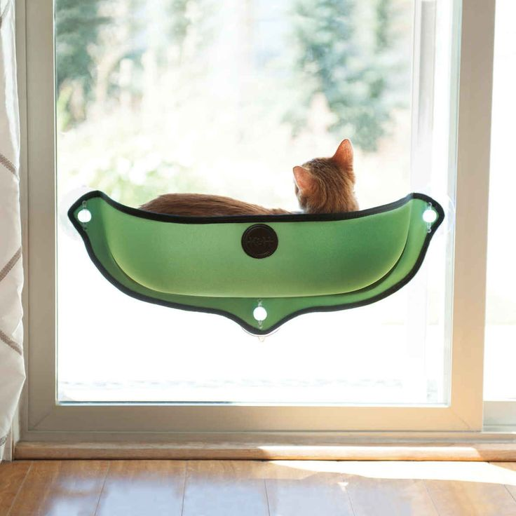 "K&H Pet Products EZ Mount Window Bed Kitty Sill Green 27"" x 11"" x 10.5"""