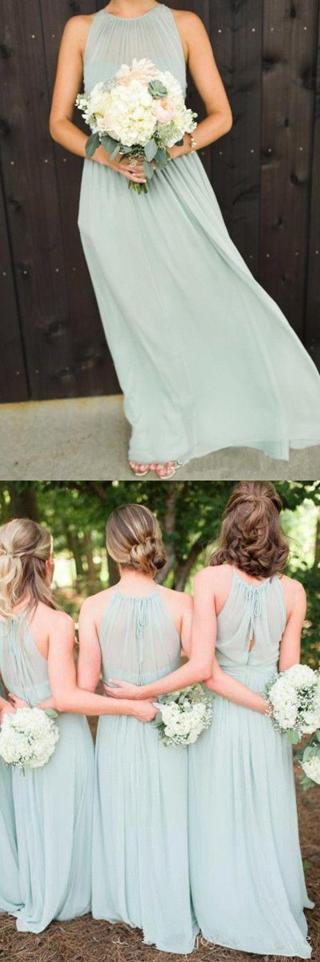 simple bridesmaid dresses,long chiffon bridesmaid dresses,dresses for weddings