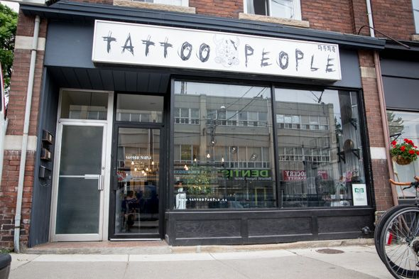 Another store front shot, More pictures from our blogto post: www.blogto.com/services/tattoo-people-toronto