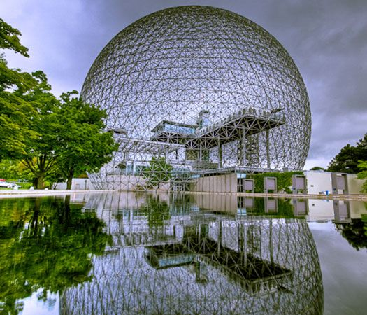 40 Bizarre and Incredible Building Design – Part 2, Montreal Biosphère, Canada