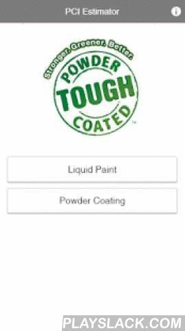 Liquid-Powder Cost Estimator  Android App - playslack.com ,  The Liquid-to-Powder Coating Cost Estimator is a simple tool for evaluating and comparing the material cost of a powder coating and liquid coating. The app uses information such as volume solids, application or reclaim efficiency, specific gravity, product cost and applied thickness to calculate and compare the cost of each material. The app offers a visual comparison of between powder and liquid material cost, or the app can be…