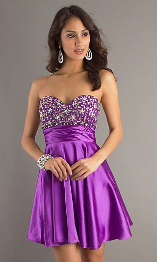 10 Best ideas about Purple Party Dress on Pinterest - Short party ...