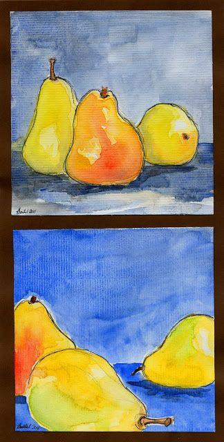 that artist woman: Open vs. Closed Composition