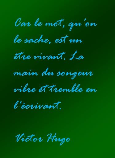 Citation - Victor Hugo
