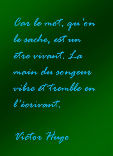 Citation - Victor Hugo