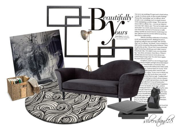 """""""simply room 001 inspiration by silverstrand18"""" by silverstrand18 on Polyvore featuring interior, interiors, interior design, home, home decor, interior decorating, Sonam Life, Gubi, Improvements and PyroPet"""