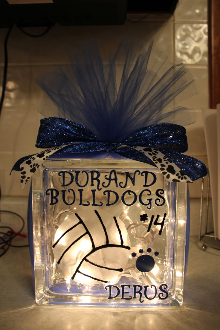 Senior VB gift - Caitlin's