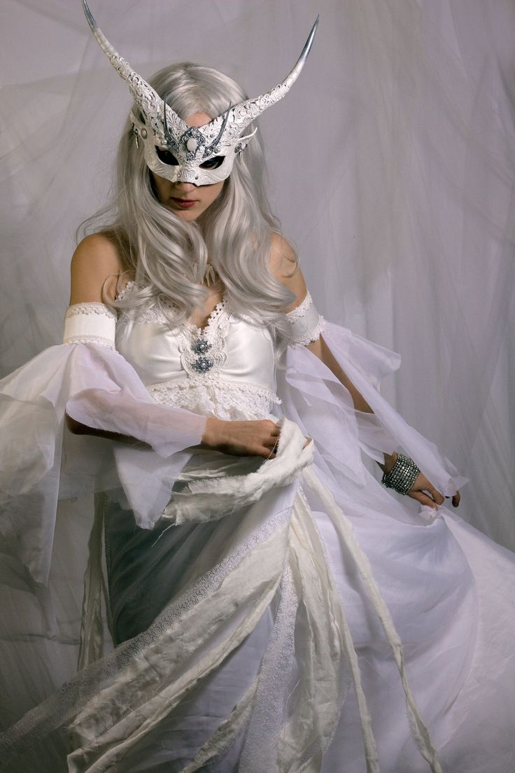 Winter Witch costume (mask by Vincent Cantillon/ Costume by ...