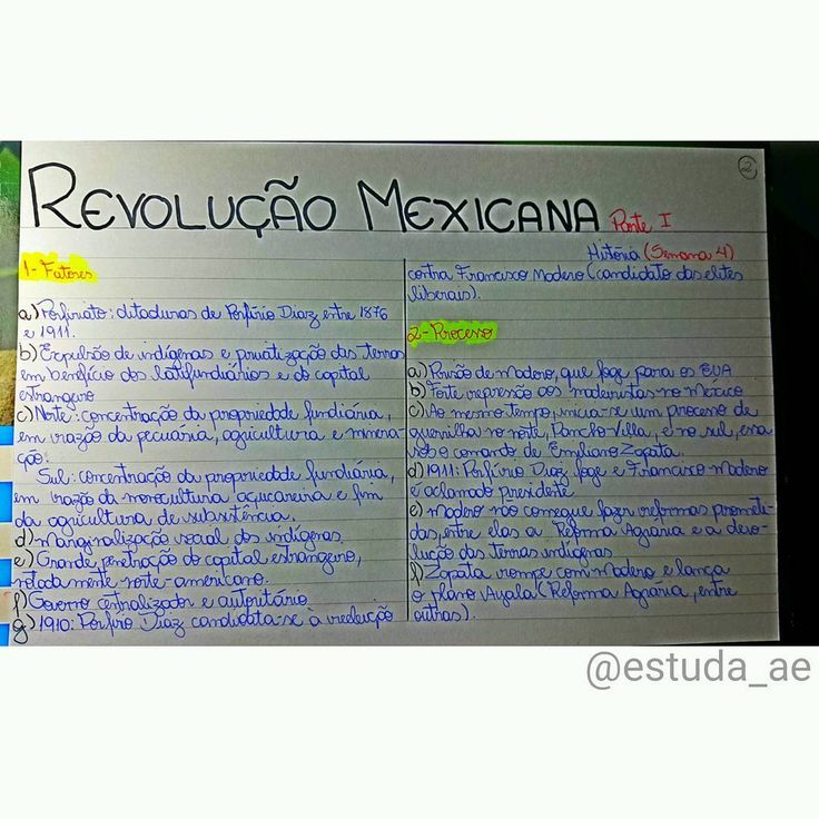 História - Revolução Mexicana - Parte 1