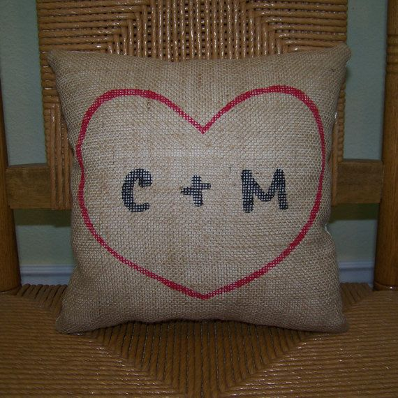Best 25+ Initial pillow ideas on Pinterest