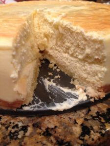 The best low carb cheesecake. I will try this with erythritol and stevia.