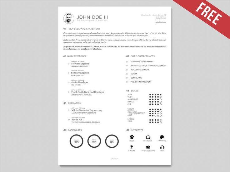 11 best Illustrator Resume images on Pinterest Resume, Resume